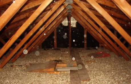 Vermiculite attic insulation - removal services in Montreal
