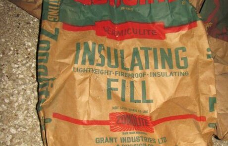 Vermiculite - Zonolite brand in attic
