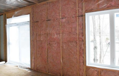 Wall insulation in Montreal