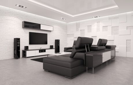 Acoustic insulation services for home theater