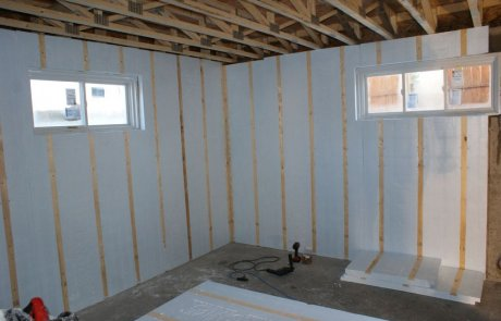 Basement insulation service