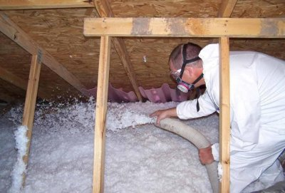 Attic insulation contractor in Brossard