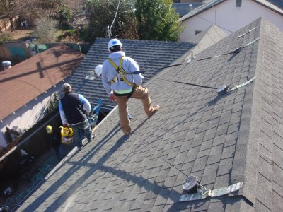 Roof repairs, Longueuil