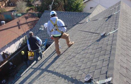 Roof repairs, Brossard
