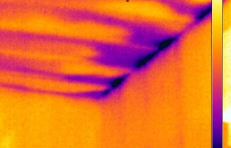 Analyse thermographique - Problème isolation toiture