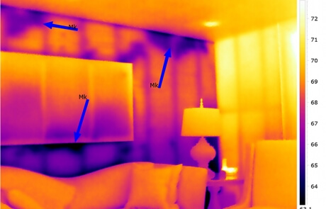 Analyse thermographique - pertes de chaleur - Québec