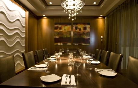 Insonorisation restaurant (salle de réunion) - Montréal, Québec