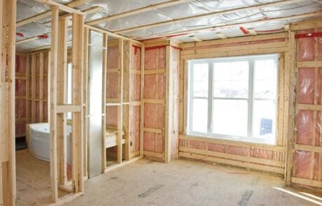 Isolation maisons - murs intérieurs