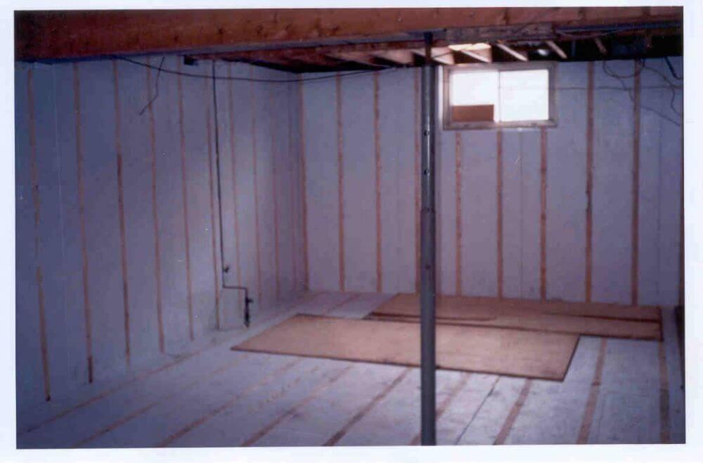 isolation maison sous sol