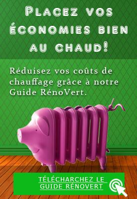 Isolation de maison - Guide RénoVert - réduction coûts de chauffage - Montréal