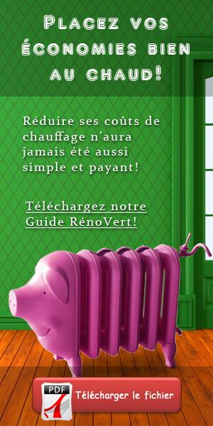 Isolation de maison - Guide RénoVert - réduction coûts de chauffage - Quebec