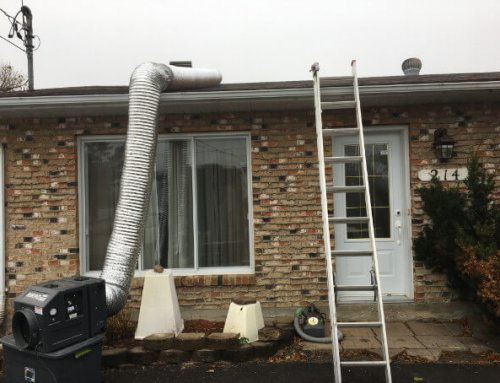 Isolation de toit, Terrebonne (projet)