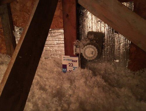 Isolation de toit, ajout isolation, Terrebonne