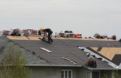 Réfection de toiture en bardeaux d'asphalte, Laval