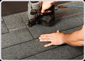 Réparation de toit en bardeaux, Longueuil