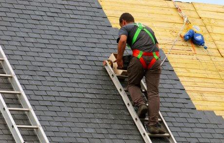 Réfection de toiture en bardeaux, Longueuil