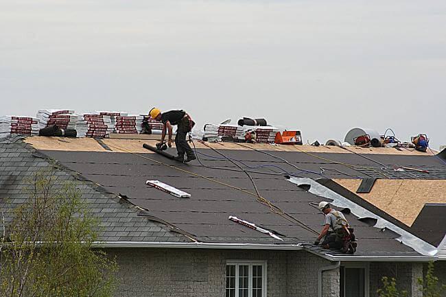 Réfection de toiture, Longueuil