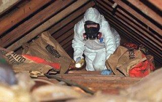 Décontamination vermiculite toiture, Granby