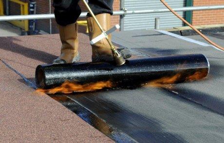 Rénovation de toiture toit plat, Brossard