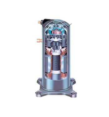 Thermopompe Kelvinator 2.5 tonnes, compresseur