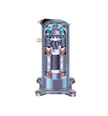 Thermopompe Kelvinator 3 tonnes, compresseur