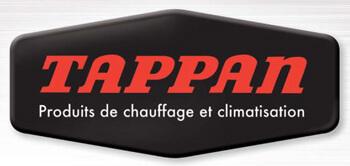 Thermopompe Tappan, logo