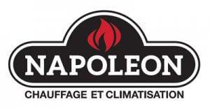 Thermopompe murale Napoléon, 12 000 btu - Logo