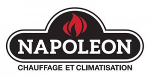 Thermopompe murale Napoléon, 18 000 btu - Logo