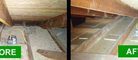 Enlèvement de vermiculite Drummondville, Toiture