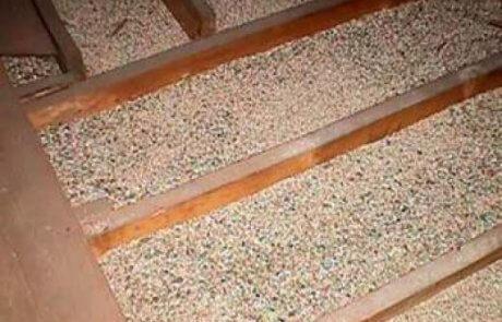 Décontamination de vermiculite à L'Assomption, Isolation