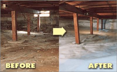 Réhabilitation de vide sanitaire