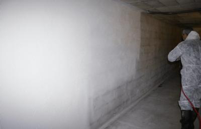 Décontamination de vide sanitaire, étanchéisation