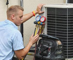 Réparation de thermopompe centrale